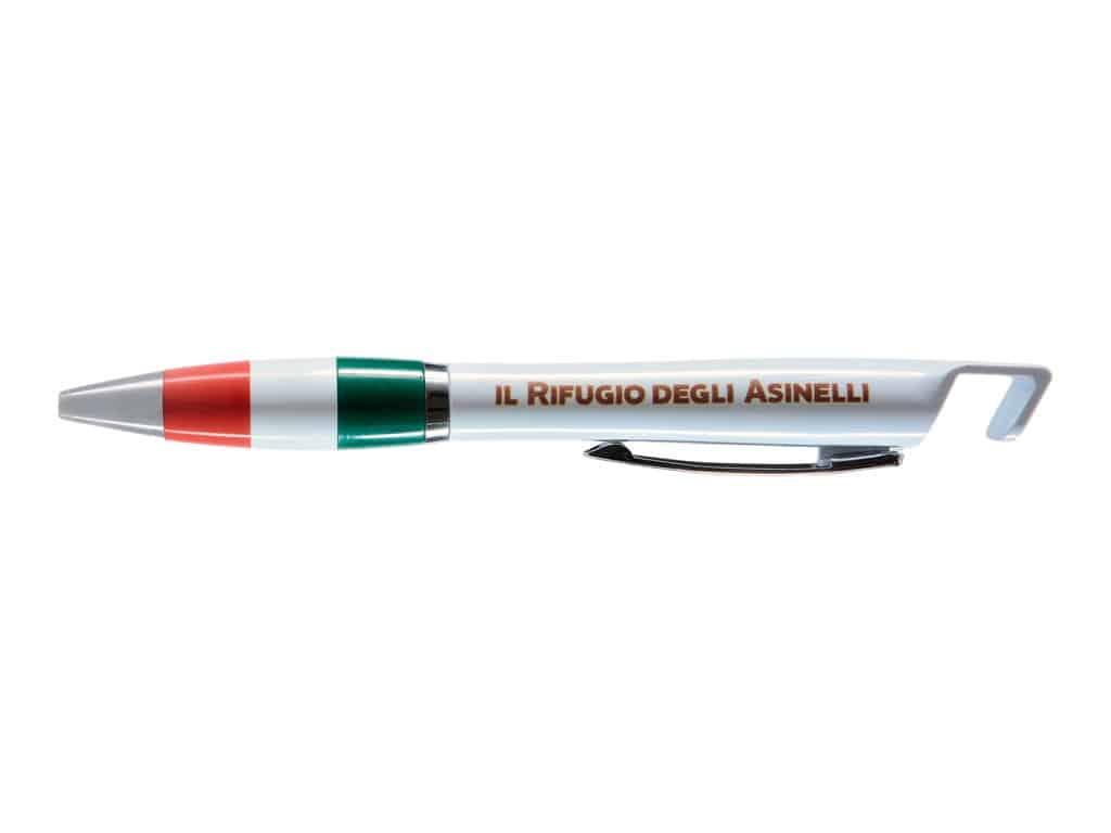 Phone stand pen with logo Il Rifugio degli Asinelli
