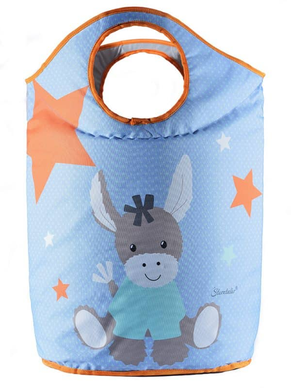 Laundry bag with donkey drawing size 71x58x29 cm